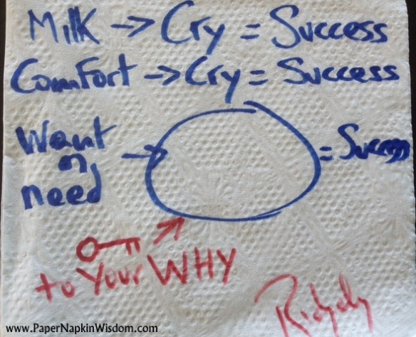 Ridgely Goldsborough - Paper Napkin Wisdom